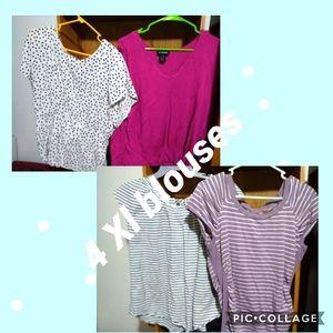 XL blouse bundle 4 shirts